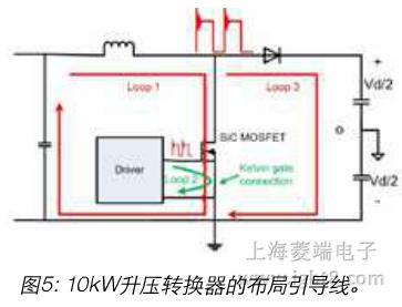 10kw升压转换器的物理设计在图6中示出