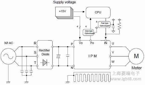 变频器连接制动模块接线图