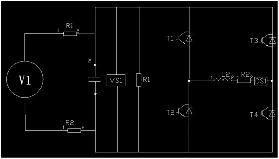 3、然后将调压器接入三相输入,逐渐增大到额定电压,观察各电压等级下驱动脉冲和IGBT 动作是否正确、功率组件输出空载波形是否正常。 二)测试内容和结果分析 1、按照电器原理图与接线表检查系统电气连接状况 2、变流器控制系统上电,观察控制板工作状况 · 测量控制系统电源工作是否正常; · 测量系统的传感器、接触器的电源是否正常; · 观察变流器元器件工作是否正常,如声音异常、味道异常; · 观察操作器显示是否正常,如显示中间直流电压、交流电流等变量为零