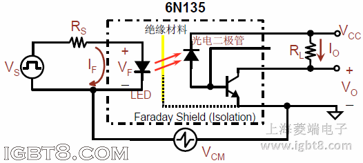 p620光耦内部结构图