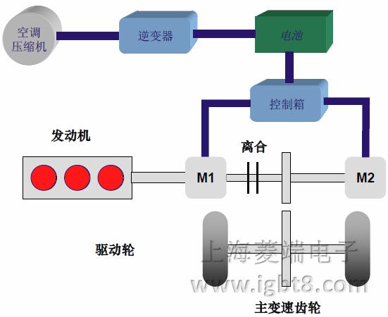 DM电气系统示意图