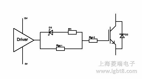 0v/15v驱动电压时建议使用的电路