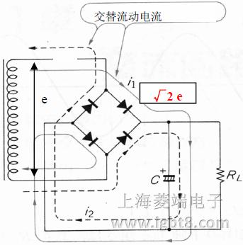 二极管上施加的反向电压